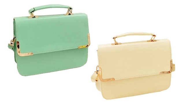 RM35 for a PU Leather Box Sling Bag (worth RM99). 4 Colours