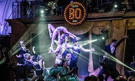 Entrada a espectáculo del Teatro Bodevil para dos personas con copas por 39,95 € y con cena por 79,95 €