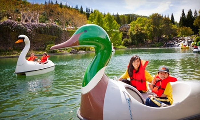 Gilroy Gardens Family Theme Park - Coyote: $24 for Amusement-Park Admission for One at Gilroy Gardens Family Theme Park (Up to $49.99 Value)