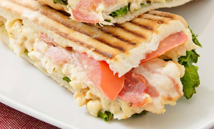 $10 for Two Groupons, Each Good for $10 Worth Soup, Salad, and Sandwiches at Green Pepper ($20 Value)