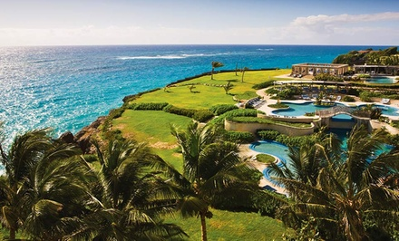 groupon daily deal - 3- or 5-Night Stay for Two in a Suite at The Crane Residential Resort in Barbados. Combine Up to 10 Nights.