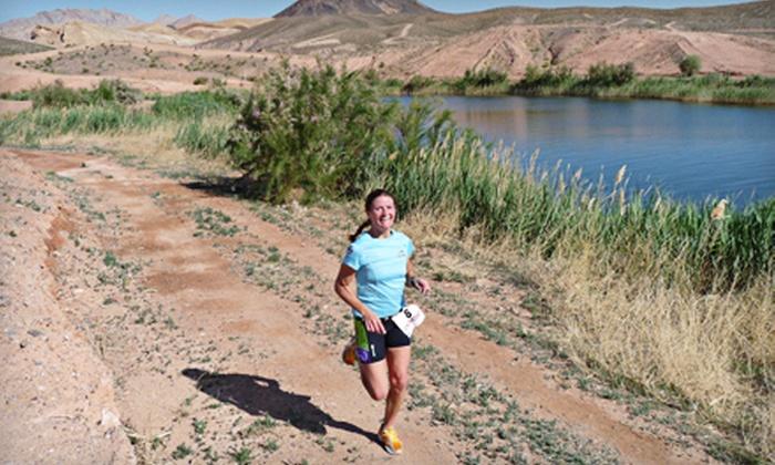 XTERRA Lake Las Vegas Trail Runs - Lake Las Vegas- Henderson: 5K, 10K or 21K Trail Run on April 15 from XTERRA Lake Las Vegas Trail Run (60% Off)