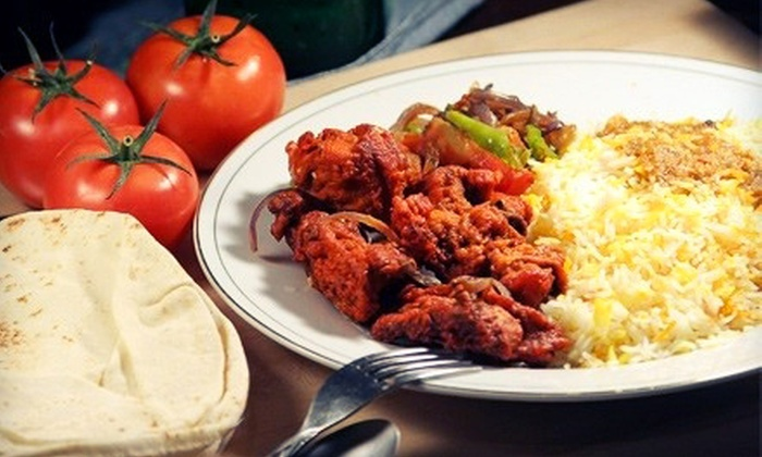 The Kabob Curry - Downtown Long Beach: Indian-Pakistani Food at The Kabob Curry (Half Off). Two Options Available.