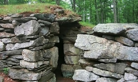 Outing for Two or Four or One-Year Family Membership at America's Stonehenge in Salem (Up to 54% Off)