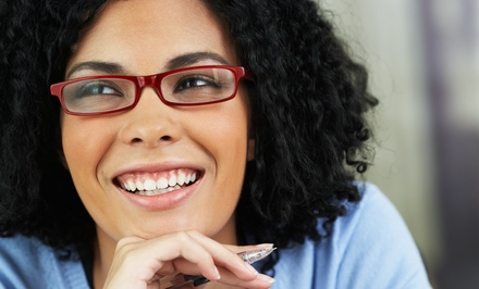 $19 for $260 Toward Prescription Eyeglasses or Sunglasses & Exam at Macy's Vision Express ($310 Value)