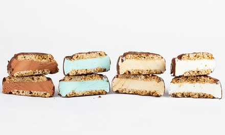 One Dozen Ice-Cream Sandwiches with Option for One Dozen Cookies at IT'S-IT Ice Cream (Up to 45% Off)
