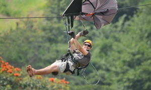 Club Venture: Para Zipline Tour from R289 for One at Club Venture (Up to 55% Off)