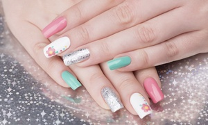 Herbal Essentials Spa: Shellac Manicure with Optional Pedicure, or Regular Mani-Pedi at Herbal Essentials Spa (Up to 51% Off)