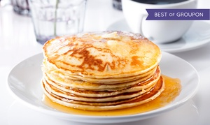Juicy-O Pancake House: Café Food for Breakfast or Lunch, Valid Monday–Saturday or Sunday at Juicy-O Pancake House (40% Off)