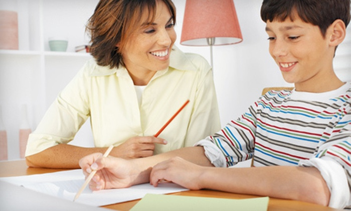 The Tutoring Center - Town Center Square: Four or Eight One-Hour Private Tutoring Sessions with Diagnostic Exam at The Tutoring Center (77% Off)