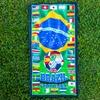 International-Soccer Beach Towel