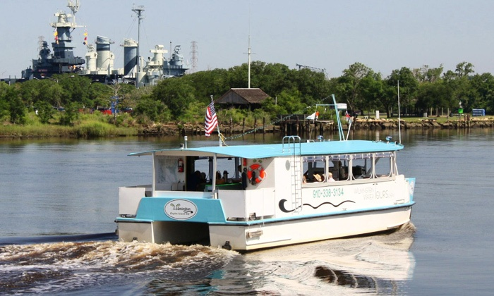 Wilmington Water Tours - Wilmington: Two-Hour Boat Tour for Two or Four from Wilmington Water Tours (Up to 45% Off)