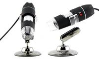 Microscopio USB digital con captura de fotos y vídeo