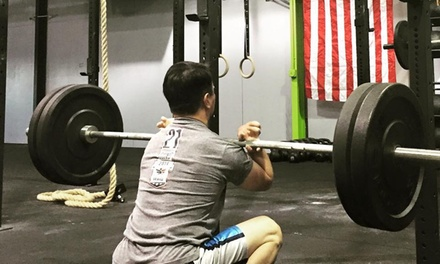 Four Weeks of Gym Membership at Crossfit Laminin (45% Off)