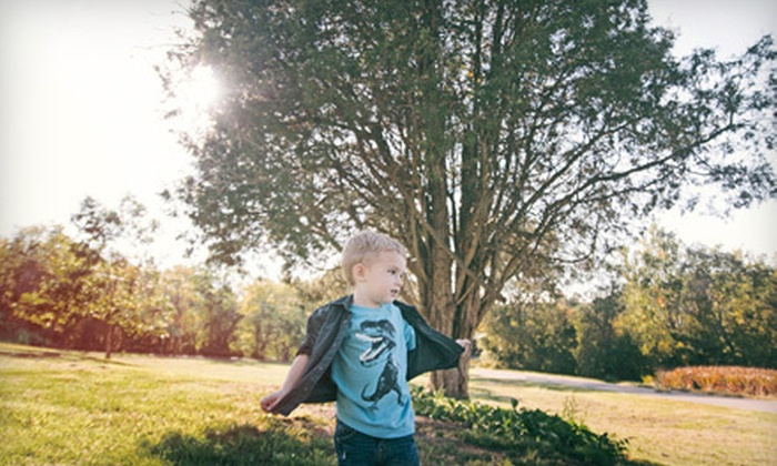 Michelle Black Concepts - Northwoods: $69 for a Children's Photo Shoot with Three Digital Images from Michelle Black Concepts ($525 Value)