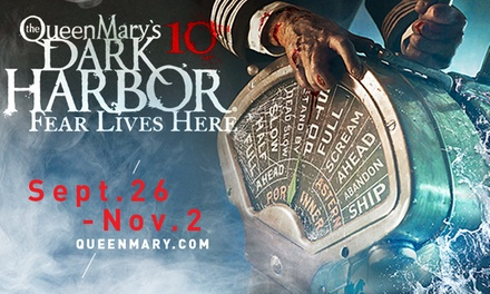 General Admission to Dark Harbor for One at The Queen Mary Through November 2 (Up to 41% Off)