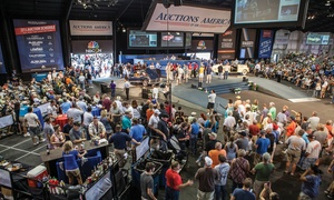 Auctions America : Single-Day or Weekend Admission for Two to the Auctions America Car Show and Auction (Up to 55% Off)