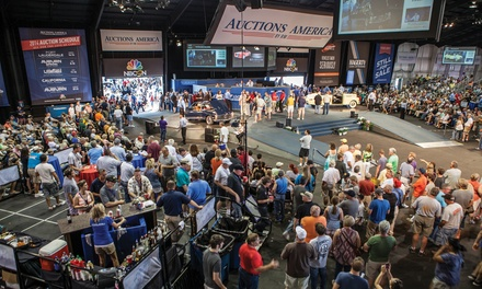 Single-Day or Weekend Admission for Two to the Auctions America Car Show and Auction (Up to 55% Off)