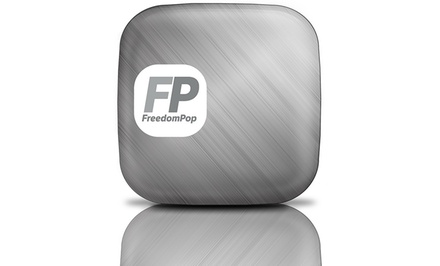 Platinum FreedomPop 4G Photon Hotspot with Free High-Speed Wireless Internet (Refurbished). Free Returns.