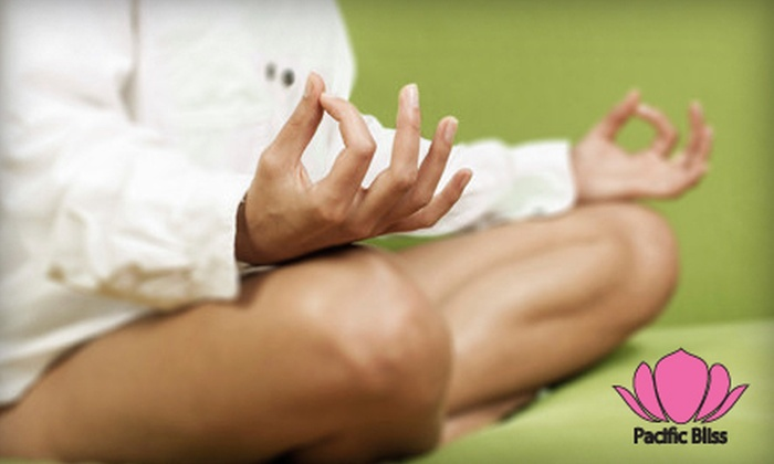 Pacific Bliss Yoga - Vancouver: 10 Yoga Classes or Three Months of Unlimited Yoga from Pacific Bliss Yoga (Up to 77% Off)