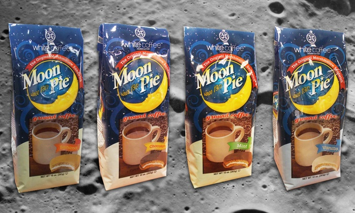 3 10-Ounce Bags of Moon Pie Coffee: 3 10-Ounce Bags of Moon Pie Coffee.