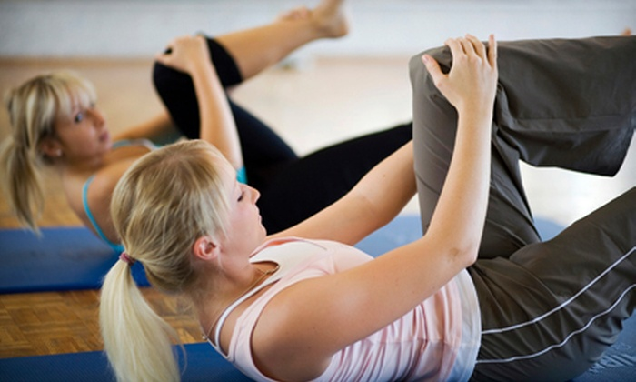 Breathe Pilates and Fitness Studio - Walkerville: One Month of Fitness Classes or Four Pole-Fitness Classes at Breathe Pilates and Fitness Studio (Up to 79% Off)