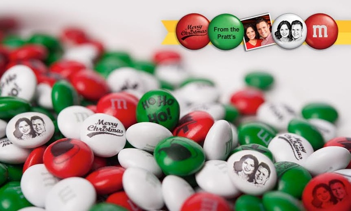 My M&M's are a great way to celebrate any special event or holiday. It's easy to create your own candy: all you have to do is pick your color, message, photo or clip art, and packaging. With 25 different colors to choose from and a variety of clip art options, My M&M's are a perfect complement to birthdays, sports events, weddings and more.