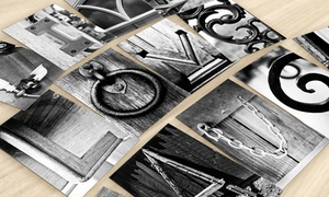 "Frame The Alphabet: 5, 8, or 10 4""x6"" or 5""x7"" Single-Letter Art Prints from Frame the Alphabet (Up to 80% Off)"