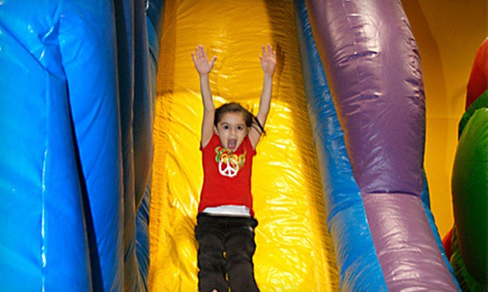 Screamin' Parties - Multiple Locations: $29 for Five Two-Hour Open-Play Bounce Visits at Screamin' Parties ($65 Value)