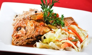 Chef Rob's Caribbean Cafe: Caribbean and International Food for Dine-In or Take-Out at Chef Rob's Caribbean Cafe (Up to 30% Off)