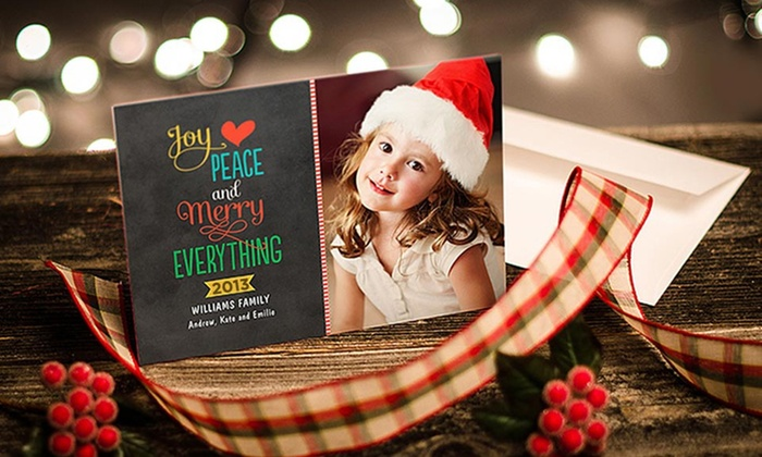 "Zazzle: 40, 75, or 110 Custom 5""x7"" Flat Photo Cards with Envelopes from Zazzle (Up to 81% Off)"