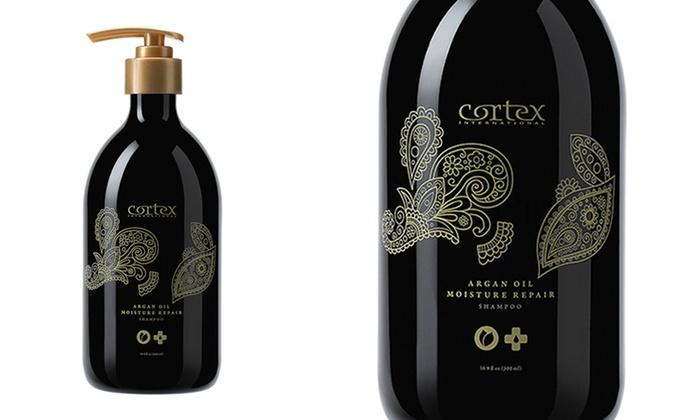 Cortex Argan Oil Moisture Repair Haircare Duo: Cortex Argan Oil Moisture Repair Shampoo and Conditioner Duo. Free Shipping.