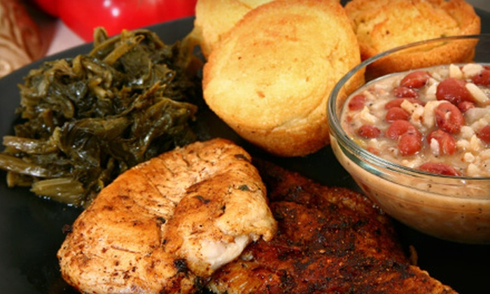 Touch of Soul - Emeryville: Soul Food at Touch of Soul (Half Off). Two Options Available.