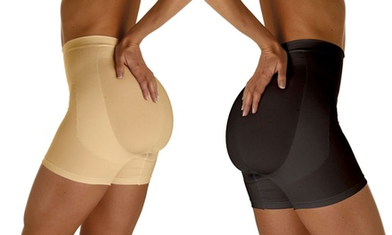 One or Two Pairs of Skin Up Womens Push Up Sculpting Control Shorts