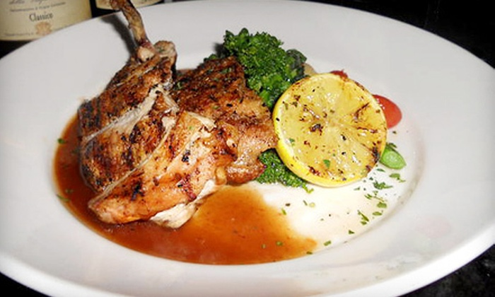 Pellegrino's Restaurant & Lounge - North Haledon: $42 for an Italian Meal for Two at Pellegrino's Restaurant & Lounge (Up to $86 Value). Two Options Available.