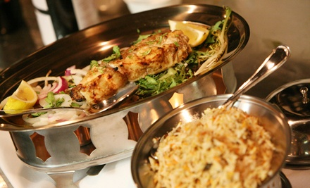 $19 for $30 Worth of Indian Dinner Cuisine at Akbar Cuisine of India