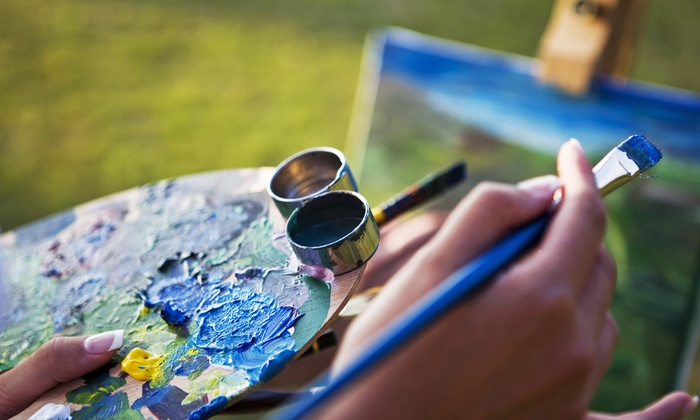 Landscape Painting Class - Central Park: Paint a Central Park Landscape with a Professional Artist