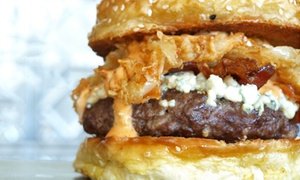 BRGRBELLY - Milwaukee Ave.: Gourmet Burgers and Hand-Cut Fries at BRGRBELLY (Up to 50% Off). Two Options Available.