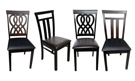 One, Two, Four or Six Dining Chairs in Choice of Style and Colour from AED 119 (Up to 72% Off)