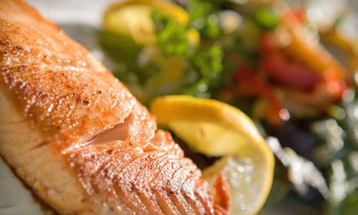 Marty O'Brien's - Hoboken: Three-Course Upscale Pub Meal for Two or Four at Marty O'Brien's in Hoboken (Up to 58% Off)