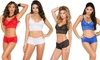 Elegant Moments Stretch Lace Matching Cami and Boyshorts Set: Elegant Moments Stretch Lace Matching Cami and Boyshorts Set