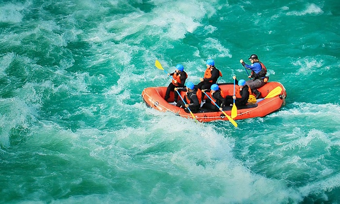 The Adventure Group - Brackendale: Class 1–2 or Class 3-4 Whitewater River Rafting Tour for One or Two from The Adventure Group (Up to 24% Off)