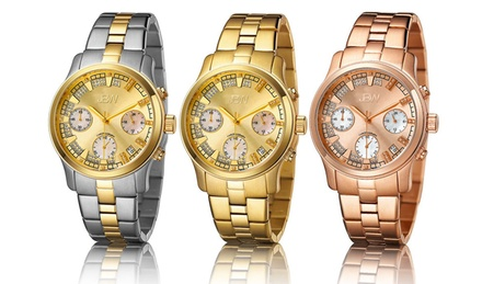 JBW Women's Alessandra Diamond Chronograph Watches