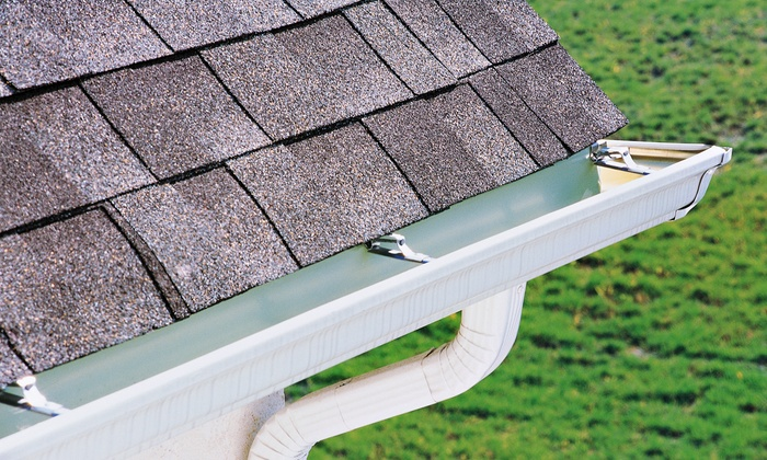 The Gutter Man - Houston: $79 for a Gutter, Downspout, and Roof-Debris Cleaning with Roof Inspection from The Gutter Man ($150 Value)