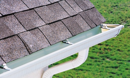$79 for a Gutter, Downspout, and Roof-Debris Cleaning with Roof Inspection from The Gutter Man ($150 Value)