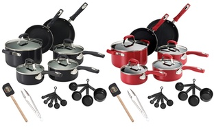 Guy Fieri Nonstick 21-Pc. Cookware Set