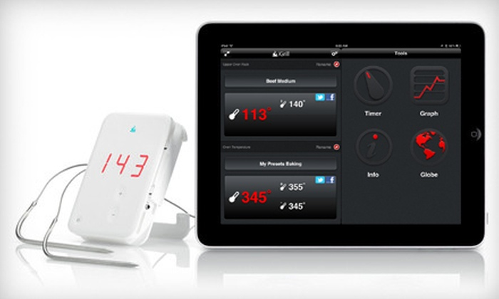 iGrill Wireless Cooking Thermometer: $59 for an iGrill Wireless Cooking Thermometer ($79.99 Value). Free Shipping.