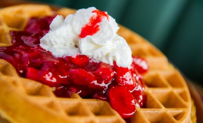 image for $12.50 for $20 Worth of Breakfast or Lunch Food at Waffle Shop