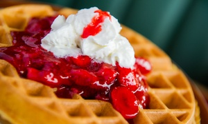 Waffle Shop: $12 for $20 Worth of Breakfast or Lunch Food at Waffle Shop