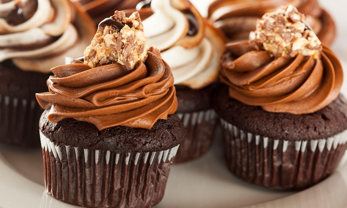 Cupcakes By Design - Collier: One or Two Dozen Cupcakes at Cupcakes by Design (40% Off)